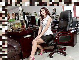 solo milf office